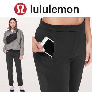 NWOT Lululemon On The Move Black Pants